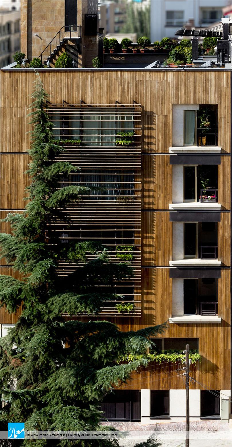 ساختمان مسکونی زعفرانیه / دفتر معماری لاین