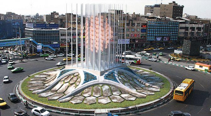 Tehran Enqelab Square Monument / Peyman Es'haghi, Mojtaba Davari Majd
