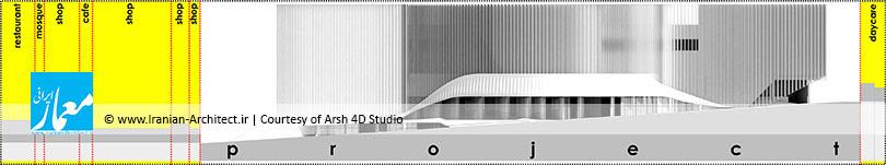 مجتمع تجاری ارگ / استودیو ارش بعد چهارم فضا