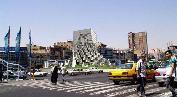 Tehran Enqelab Square Monument / Ali Ghorbani