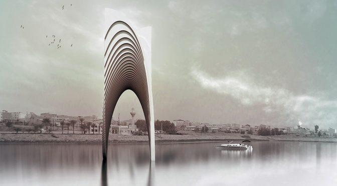 Mazandaran Holy Defense Museum Monument / Amir Shahrad