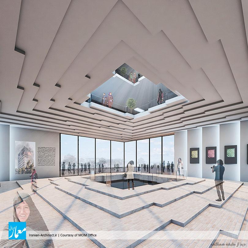 ساختمان پلاسکوی نو / دفتر معماری مام