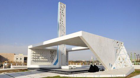 Martyrs' Memorial of Ferdowsi University / Hamed Kamelnia