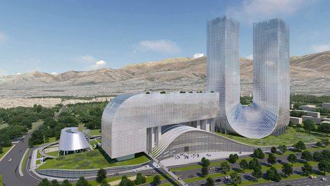 مسابقه بینالمللی طراحی مجتمع ادارات مرکزی شرکت ملی گاز ایران / رتبه سوم: کوپ هیملبلاو + کورش رفیعی
