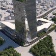 مسابقه بینالمللی طراحی مجتمع ادارات مرکزی شرکت ملی گاز ایران / رتبه چهارم: تو ایکس ام + باوند