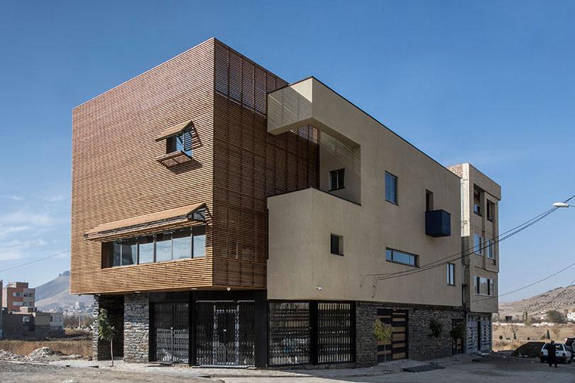 خانه مکعب آبی / شورش عابد: برنده جایزه ساختمان سال 1397