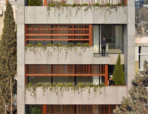 خانه گلزار / گروه معماری فرامان (مرجان فرضیان): برنده تقدیر ویژه جایزه ساختمان سال 1397