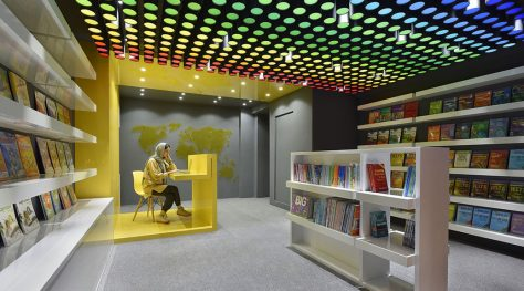 Erfan Bookstore / Ray Architects