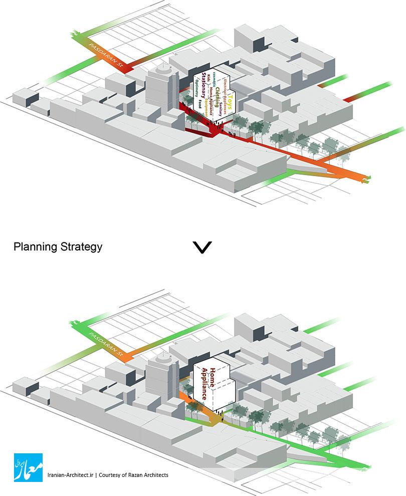 ساختمان سام پاسداران / دفتر معماری رازان