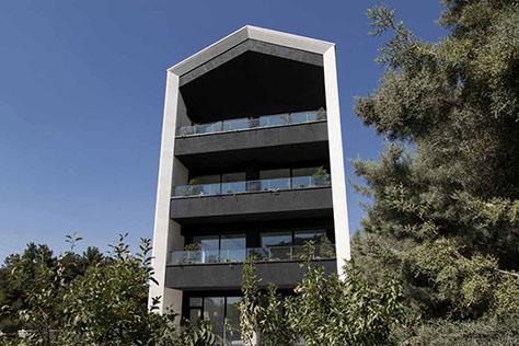 ساختمان مسکونی 106 مهرشهر / استودیو معماری فرامتن، استودیو طراحی معماری پراگماتیکا (حسن اسناوندی، محمدرضا محبعلی، نسترن نصیری): رتبه سوم گروه مسکونی آپارتمانی جایزه معمار 1398
