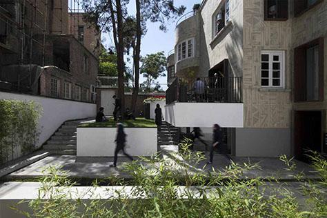 بوتیک هتل حنا / دفتر معماری باغ ایرانی (مهسا مجیدی): رتبه نخست گروه بازسازی جایزه معمار 1398