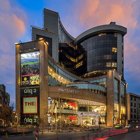 مرکز خرید پالادیوم / پدرام امنزاده