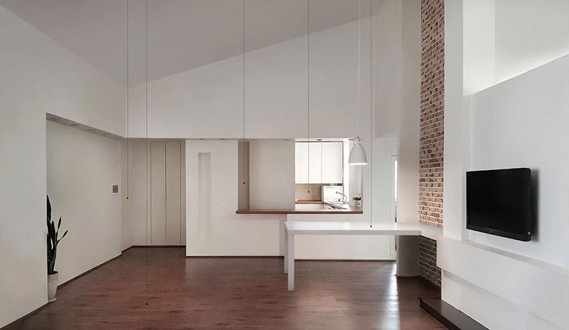 خانه بمانی / رزا بمانی: رتبه دوم گروه بازسازی ساختمانهای مسکونی دهمین جایزه معماری داخلی ایران
