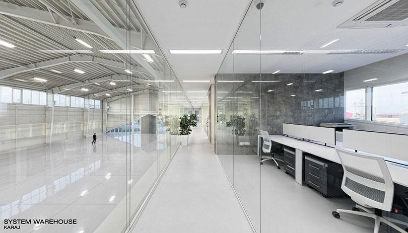 ساختمان انبار شرکت سیستم / مهران خوشرو: رتبه اول گروه ساختمانهای عمومی دهمین جایزه معماری داخلی ایران