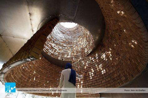 پاویون درنگ / امیرحسین اشعری: رتبه سوم گروه ساختمانهای عمومی دهمین جایزه معماری داخلی ایران