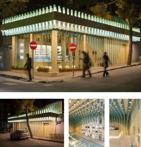 شیرینیفروشی تارت / هومن بالازاده: تقدیرشده گروه بازسازی ساختمانهای عمومی دهمین جایزه معماری داخلی ایران