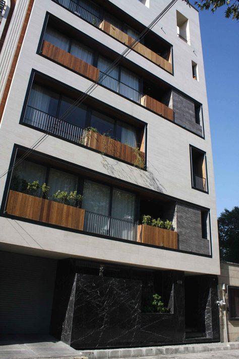 ساختمان مسکونی خیابان منظریه، تهران / دفتر معماری ساو (امین فراهانی): رتبه دوم مشترک گروه مسکونی آپارتمانی جایزه معمار 1396
