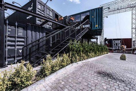 کیوب کلاب، تهران / دفتر معماری آن (مهراد حبیبی، روزبه قائممقامی): رتبه سوم مشترک گروه عمومی جایزه معمار 1396