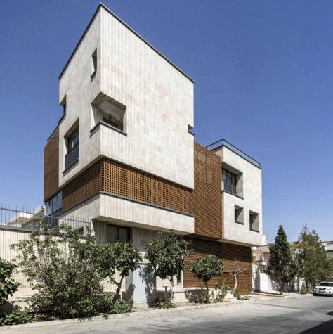 خانه مربع، اصفهان / آمنه بختیار: رتبه اول گروه مسکونی آپارتمانی جایزه معمار 1397