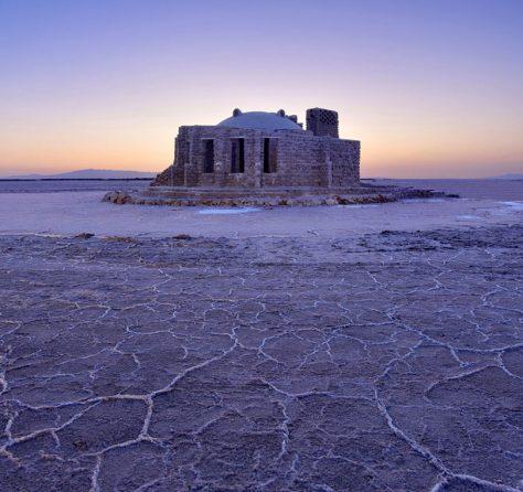 کوشک نمکی، دریاچه نمک قم / گروه طراحی سایبان سازه کاشان (حمیدرضا مظفری بیدگلی): رتبه دوم گروه عمومی جایزه معمار 1397