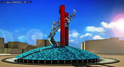 Winner of Tehran Enqelab Square Monument Competition