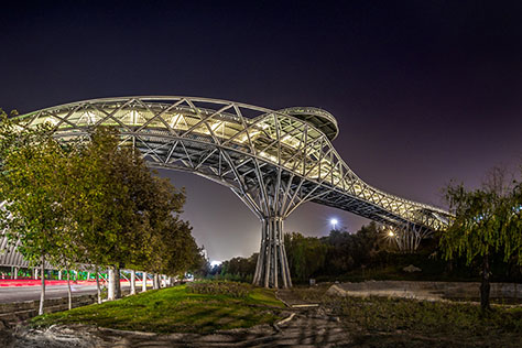 Tabiat Pedestrian Bridge, Iranian Winner of Aga Khan Award for Architecture 2016