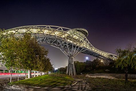 Tabiat Pedestrian Bridge, Iranian Winner of Aga Khan Award for Architecture 2016
