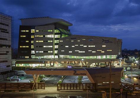 بیمارستان پارس رشت / دفتر معماری موج نو (لیدا الماسیان، شاهین حیدری) | فینالیست فستیوال جهانی معماری 2017 در گروه درمانی، بخش ساختمانهای ساختهشده