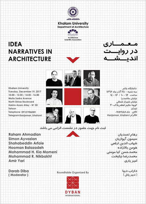 Panel Discussion: Idea Narratives in Architecture