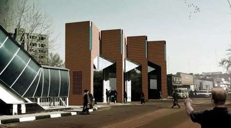 Entrance Gate of Sharif Technology University / Rahman Shokouhi, Amir Pourmohammad, Mehdi Ghadiri