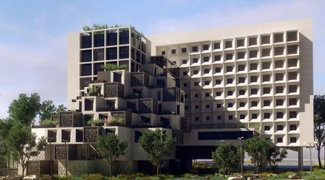 Shams-al-Ziafeh Mixed-Use Complex / Fazazist Consulting Engineers