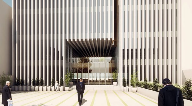 IPMI Headquarters Facade / DAAL Architecture Studio