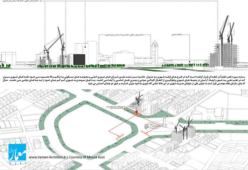 ساختمان مرکزی سازمان نظام مهندسی ساختمان هشتگرد / موسی عزیزی
