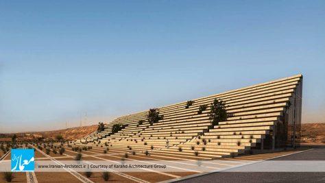 ساختمان مرکزی سازمان منطقه آزاد چابهار / گروه معماری کارند (علی شریعتی، دخی سربندی) | فینالیست فستیوال جهانی معماری 2017 در گروه اداری، بخش پروژههای آینده