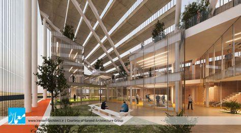 ساختمان مرکزی سازمان منطقه آزاد چابهار / گروه معماری کارند