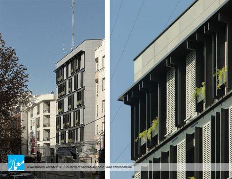 بازسازی نمای ساختمان اداری الوند / شهاب علیدوست، صونا افتخار اعظم