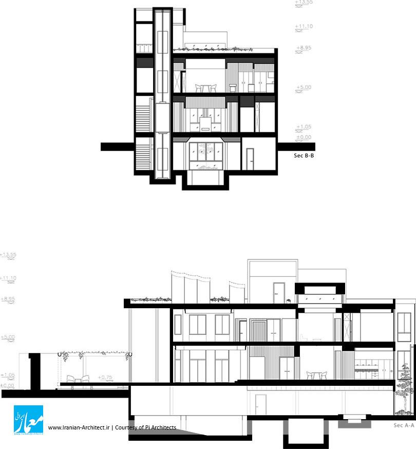 هفته پنجم، یک بازسازی / استودیو معماری پی