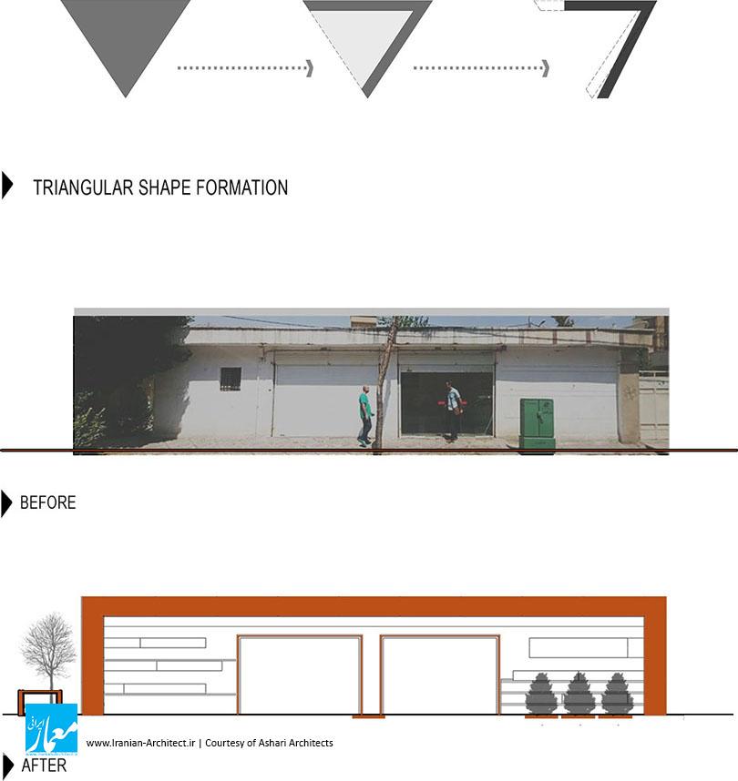 کافه مثلث / دفتر معماری اشعری و همکاران