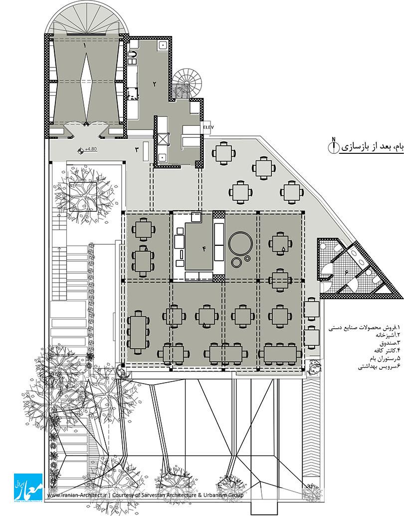 خانه فرهنگ رایزن / گروه معماری و شهرسازی سروستان
