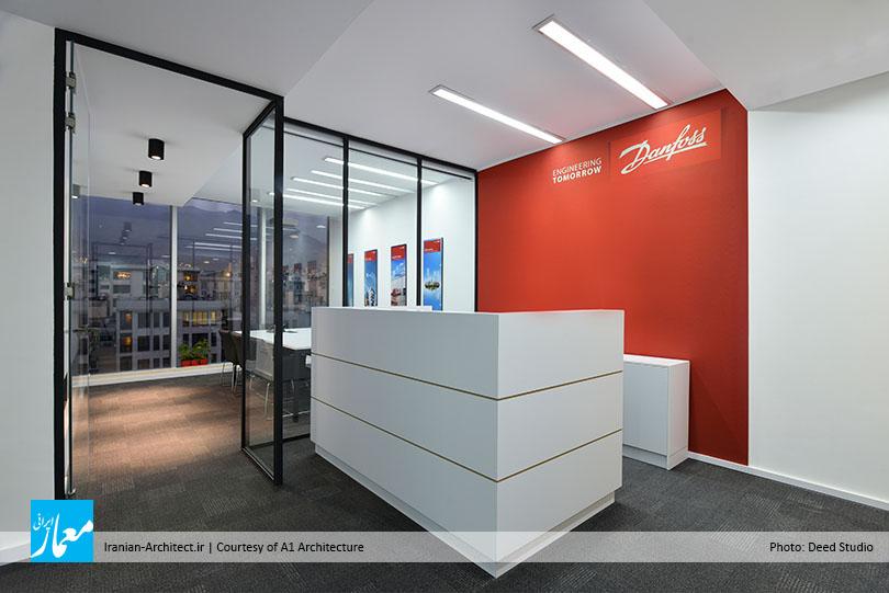 دفتر اداری شرکت دانفوس / دفتر معماری ایوان
