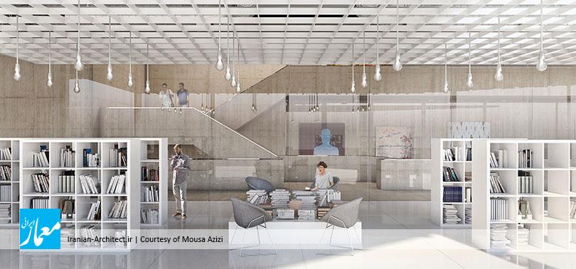 ساختمان تجاری ـ اداری بریس / موسی عزیزی