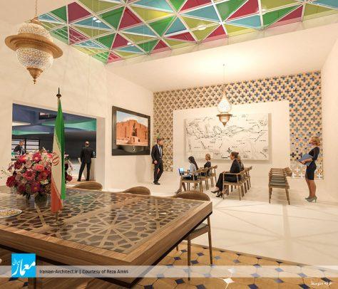غرفه ایران در نمایشگاههای گردشگری بینالمللی ۲۰۱۸ / رضا امیری
