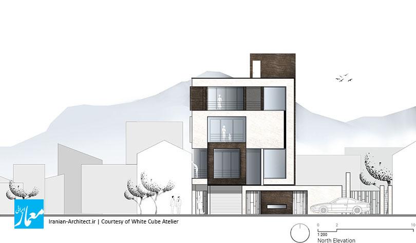 خانه شماره 20 ماکو / دفتر مکعب سفید