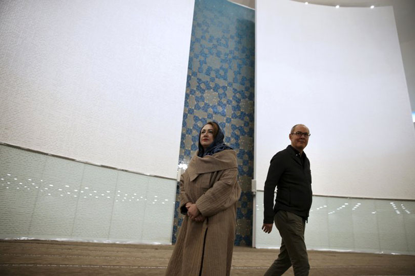The Associated Press Report: Avant-garde Mosque angers hard-liners in Iran