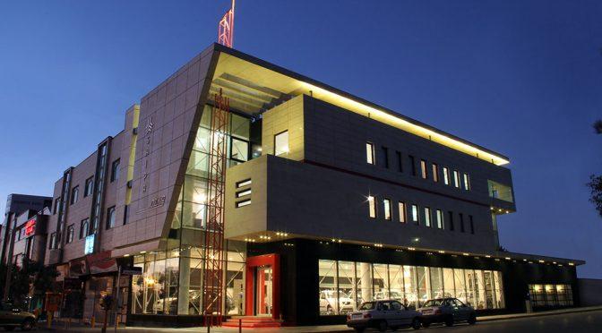 نمایشگاه و ساختمان اداری نمایندگی سایپا / مهندسان مشاور فراطرح