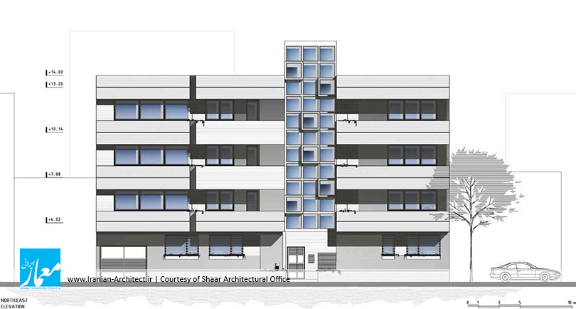 آپارتمان شماره دو / دفتر معماری شار