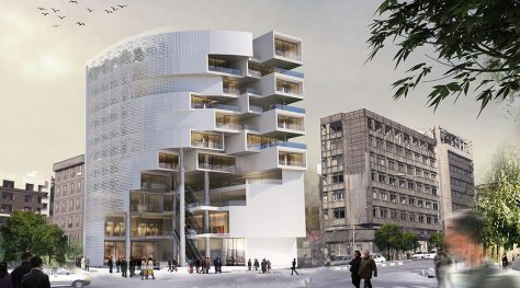 Bris Commercial & Office Building / Raouf Qasemi, Shirin Sadat Ziaei