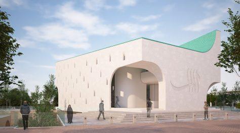 Jiroft University Mosque / Razan Architects