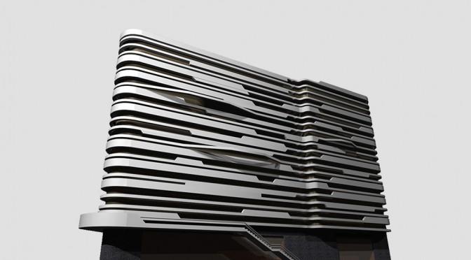 Benetton Building in Tehran / Mustafa Azari
