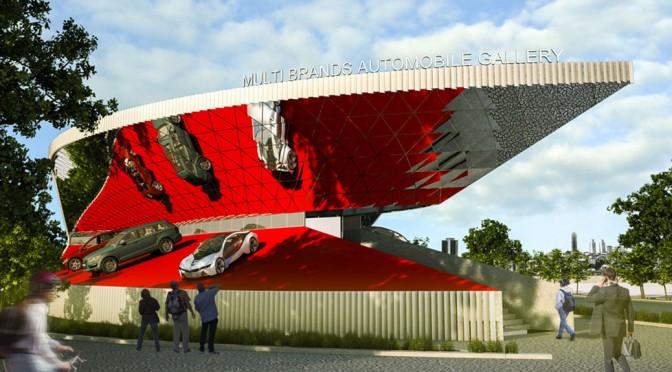 Multi Brands Automobile Exhibition / Habibeh Madjdabadi